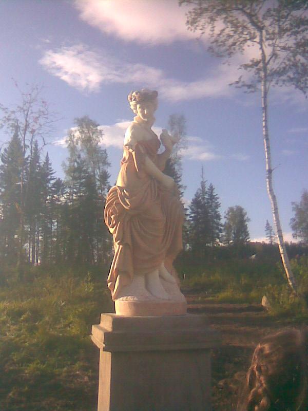 На празднике Добрых Плодов на Горе Сухая 18 авг. 2012 г.
