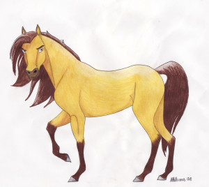 земляная лошадь